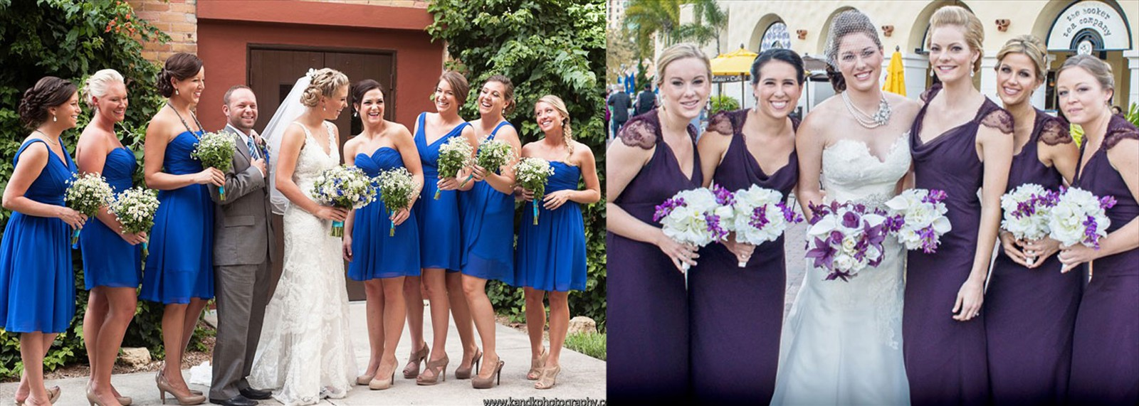 Beautiful Bridal Parties